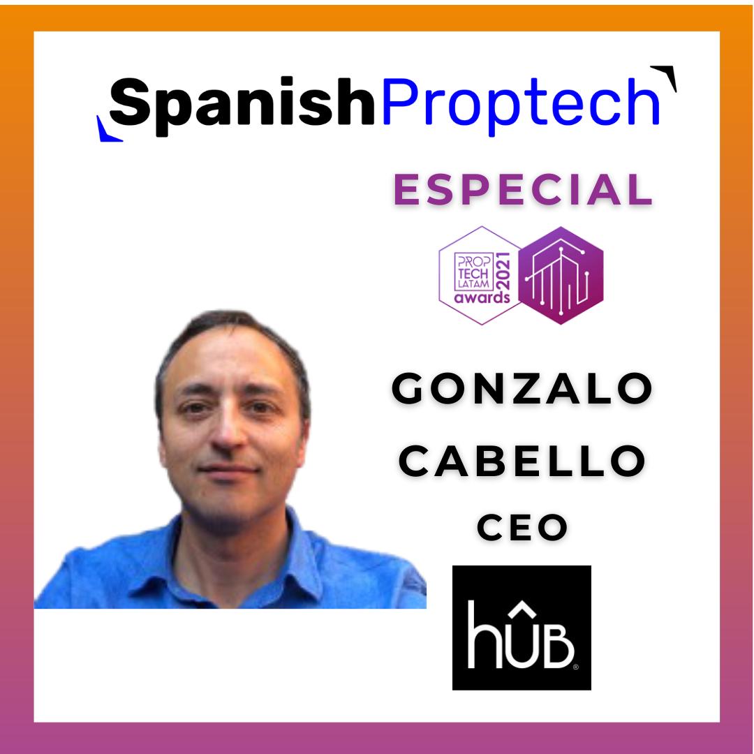 Gonzalo Cabello hUB Proptech Latam Awards